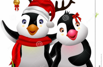 cute-penguin-christmas-cartoon-couple-love-27671287
